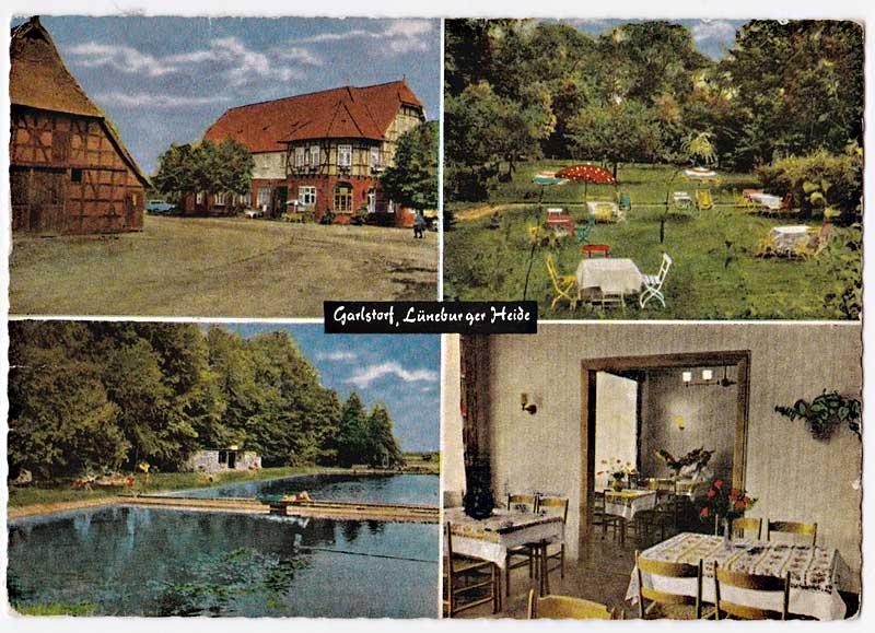 Postkarte Heidehof Garlstorf