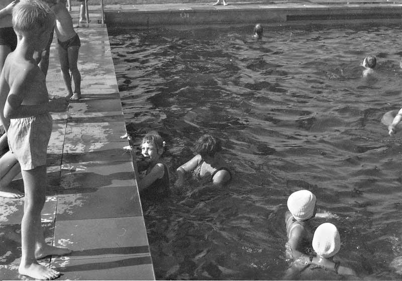 Garlstorfer Schwimmbad, Foto: Irmi Harms