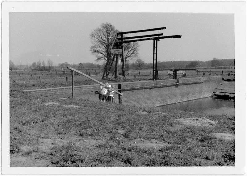 Garlstorfer Schwimmbad, 31.12.1964, Foto: Irmi Harms